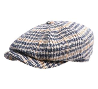 Stetson Hatteras Wool Check