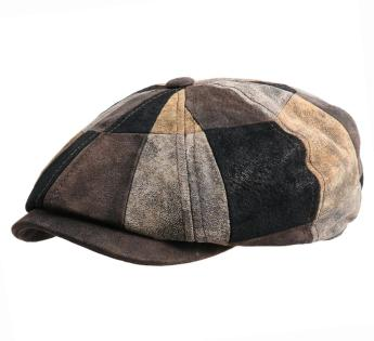 Stetson Leather Patchwork